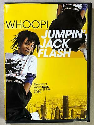 Jumpin Jack Flash (DVD, 1986) - F0224