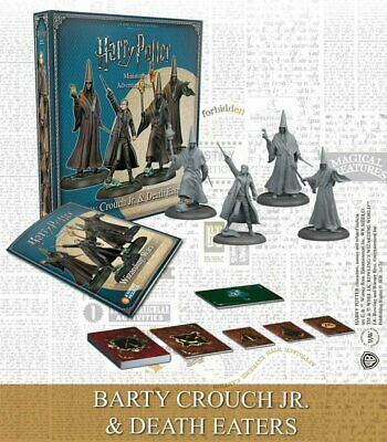 Harry Potter Miniatures 35mm 4 pack Wizarding Wars Barty Crouch Jr