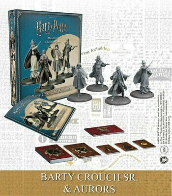 Harry Potter Miniatures 35mm 4 pack Wizarding Wars Barty Crouch Sr & Aurors