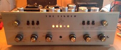 Fisher X-202-B Integrated Tube Amplifier - Works