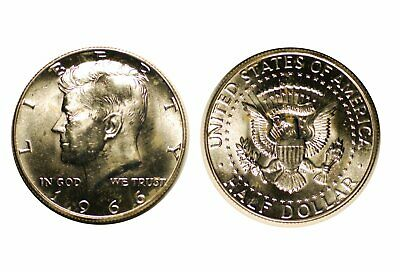 1966 Kennedy Half Dollar - Choice BU   #444
