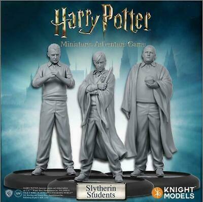 Harry Potter Miniatures 35mm 3 pack Slytherin Students
