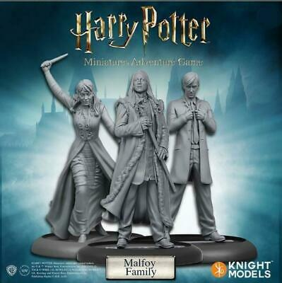 Harry Potter Miniatures 35mm 3 pack Malfoy Family