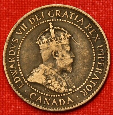 1902 Canada Large Cent Penny Great Collector Coin Gift Calc39