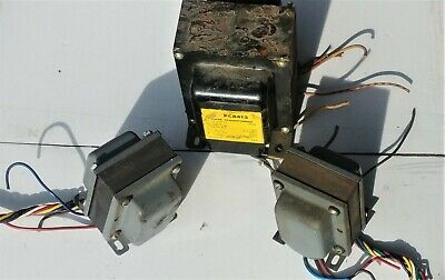 Merit Push Pull 6L6 Tube output transformer pair Stancor PC8413 power TESTED!