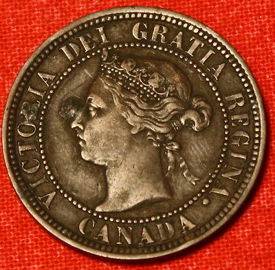 1888 Canada Large Cent Penny Great Collector Coin Gift Ca28