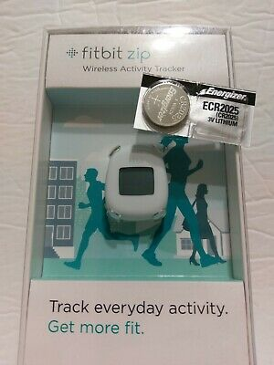 Fitbit  Zip DEVICE ONLY  WHITE New-Open box  Genuine Fit bit