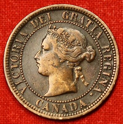 1876-H Canada Large Cent Penny Great Collector Coin Gift Calc59