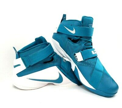 2fa45ff7ab1a Nike Lebron Soldier IX 9 Basketball Shoes Teal Cavaliers 813264-331 Size 15