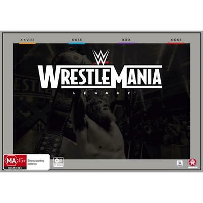 ***********WWE - Wrestlemania Legacy Collection DVD- BRAND NEW & SEALED