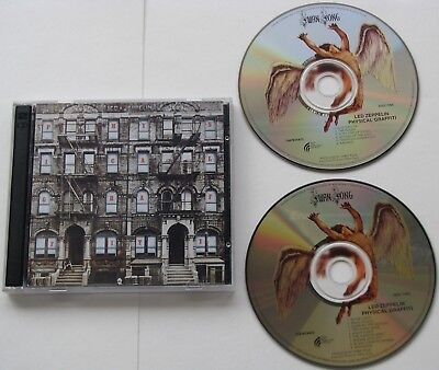 Led Zeppelin....physical Graffiti.1994 Australian Release 7567924422 , 2 Cd Set