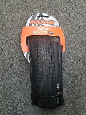 """20"""" Folding Tire Maxxis Torch Protect Liner 110 Psi Fast Recumbent BMX Trike"""