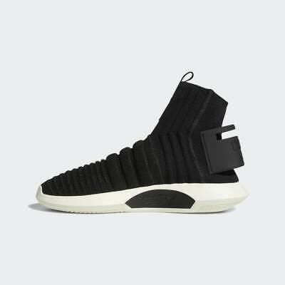 cheap for discount 4ae39 493fe ADIDAS CRAZY 1 Adv Pk Primeknit Sock Shoes Mens Size 11 Core Black Off  White - 88.00  PicClick