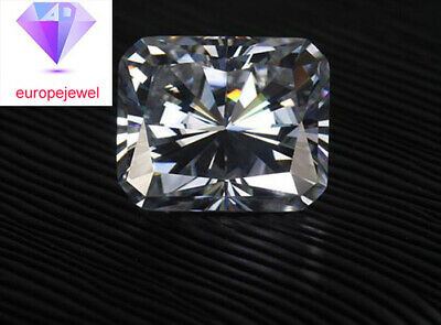 Loose Moissanite Diamond For Jewellery & Ring 1.00 Ct G-H Color VVS1 Radiant Cut