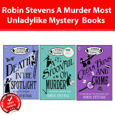 Robin Stevens A Murder Most Unladylike Mystery 3 Books Collection Pack set Death