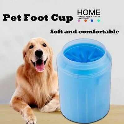 Silicone Portable Pet Foot Cleaner Cup Feet Washer Dog Cat Paw Cleaning Brush
