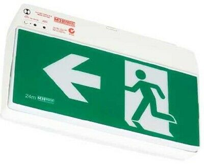 Bardic EXIT MAINTAINED EMERGENCY LED LIGHT BAREZYLED 3W Man Pictogram,Wall Mount