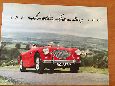 Austin healey 100/4 catalogue en français