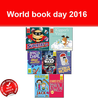 World book day 2016 collection books set Great Mouse Plot The Escape Supertato