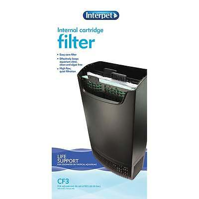 Interpet Aquarium Fish Tank Internal Cartridge Filter CF3