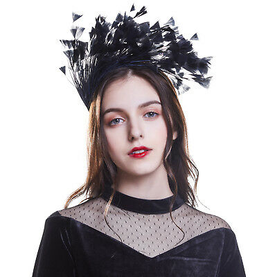Ladies's Feathers Fascinator Headband Headpiece Hairband Costume Party