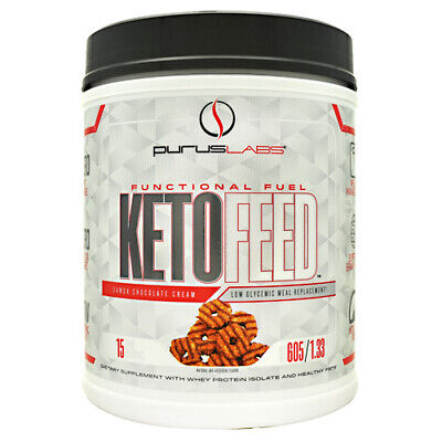 Purus Labs KetoFeed | Clean Meal Replacement Shake, MCT, Whey Isolate, Keto