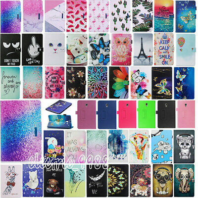 AU Leather Cover Stand Case For Samsung Galaxy Tab A 8.0 T350 T355 2015 Tablet
