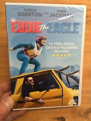 Eddie the Eagle-Taron Egerton Hugh Jackman(R2 DVD)New+Sealed 1988 Winter Olympic