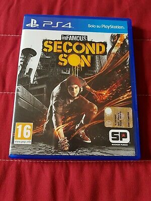 infamous second son ps4 come nuovo