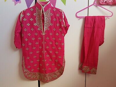 4 to 5 Year Old Asian Indian Pakistani Girls Salwar Kamiz Outfit