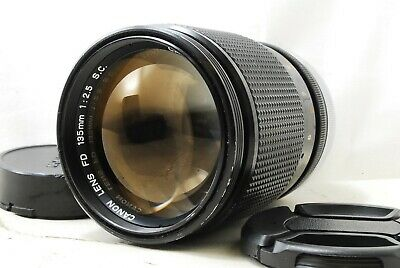 【Excellent+++】Canon FD 135mm f/2.5 S.C SC Manual Focus MF Lens from Japan