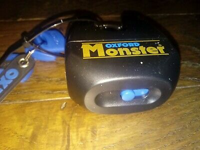 BN OXFORD Monster Padlock Motorcycle High Security Lock Thatcham approved 3 Keys