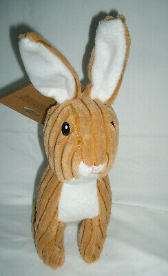 """PALLY PALS BUNNY RABBIT DOG TOY WITH SQUEAKER -11""""L x 7""""W (NEW)"""