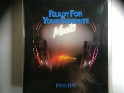 Philips Ready For Your Favorite Music 4 Cassettes Gift Pack Tapes Are Sealed