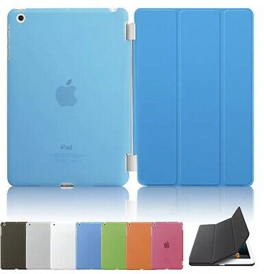 New Smart Case Magnetic Leather Cover Back Case Stand For Various iPad Models