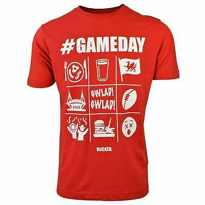 Rucked Gameday T-shirt - Red