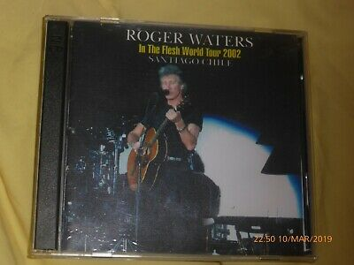 Roger Waters of Pink Floyd live Santago Chile 2002. New double solo bootleg cd