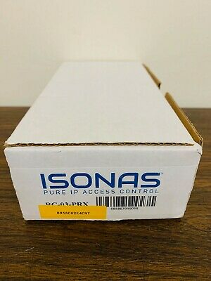 ISONAS RC-03-PRX PowerNet IP Access Control Reader (NEW- MISSING BOX)