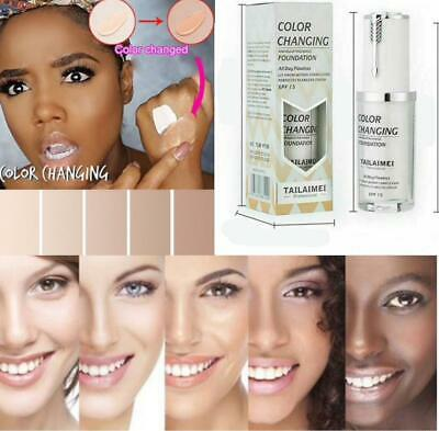 30ml TLM Colour Changing Foundation color Magic Flawless Uk stock