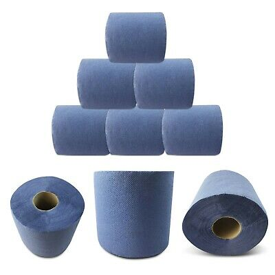 BLUE ROLL 2 Ply Centrefeed Tissue Paper HAND TOWEL Gym Commercial Industrial