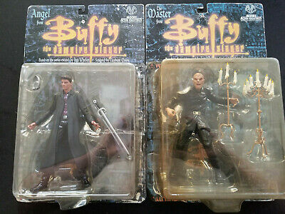 """""""Buffy the Vampire Slayer"""" Angel & The Master set (Moore Action Collectibles)"""