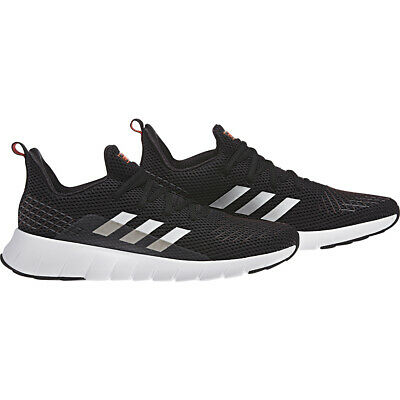 Mens Adidas Asweego Black Cloudfoam Sport Sneaker Athletic Shoe F37038 Sz 9-11.5