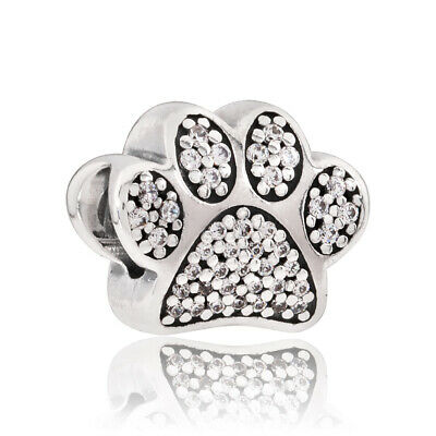 438ce9653 AUTHENTIC PANDORA STERLING Silver I Love My Pet Bead Charm Bead ...