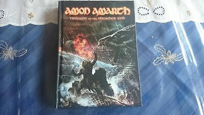 AMON AMARTH Twilight of the thunder god LTD DIGIBOOK 2-CD & DVD! Unleashed