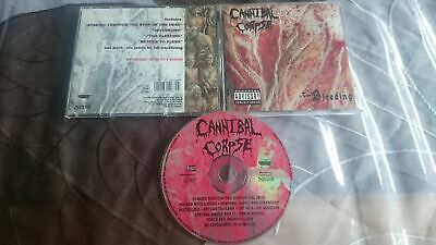 CANNIBAL CORPSE The bleeding ORG 1994! Monstrosity Suffocation Deicide Sinister