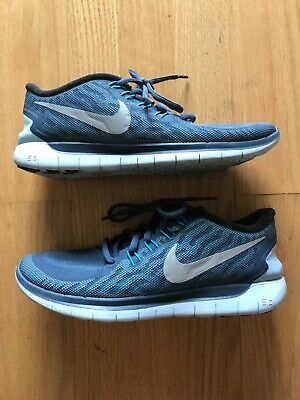 on sale d680b 23738 H2O Repel Nike Free 5.0 Mens Running Shoes Sneakers Size 8 US Blue