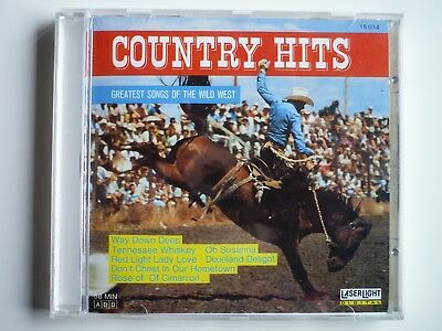 CD Country Hits, Greatest Songs of the Wild West, Zustand sehr gut, Rarität