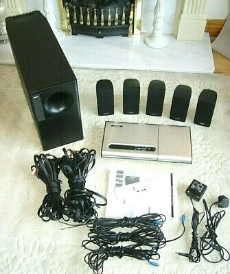 Bose Lifestyle 12 Series II, 5.1 Home Entertainment System *Free JVC DVD Player*