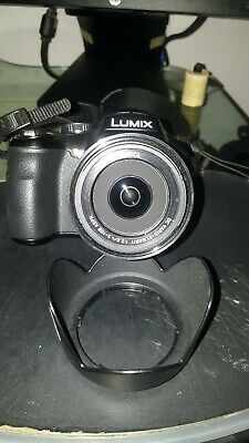 Panasonic LUMIX DMC-FZ200 12.1MP Digital Camera - Black (Kit w/ 25-600mm Lens)