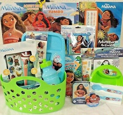 New Moana Kids Easter Toy Gift Basket Toys Micro Phone Play Set Any Occasion